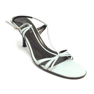 Gucci Strappy Sandals Shoes Size 37.5 EU/7.5 US